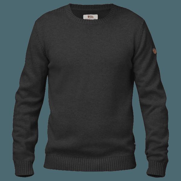 Ovik Knit Crew Men Dark Grey 030