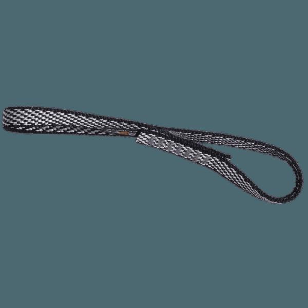 Popruhové smyčky otevřené dyneema SMU (13 mm) černá 008