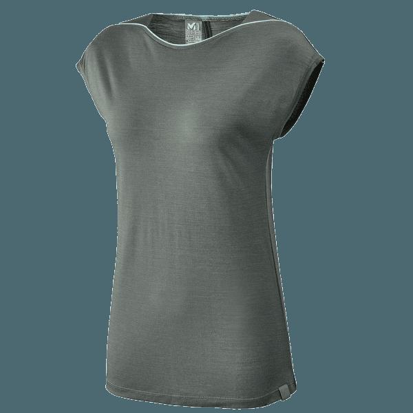 Cloud Peak Wool T-Shirt SS Women CASTLE