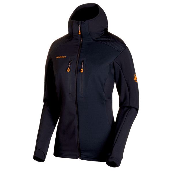 Eiswand Advanced ML Hooded Jacket Women black 0001