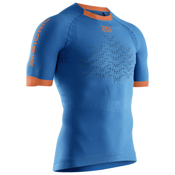 The Trick G2 Run Shirt SH SL Men Blue-Dark Ruby