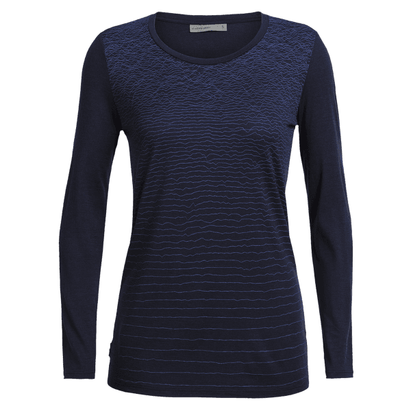 Tech Lite LS Low Crewe Landscape Lines Women