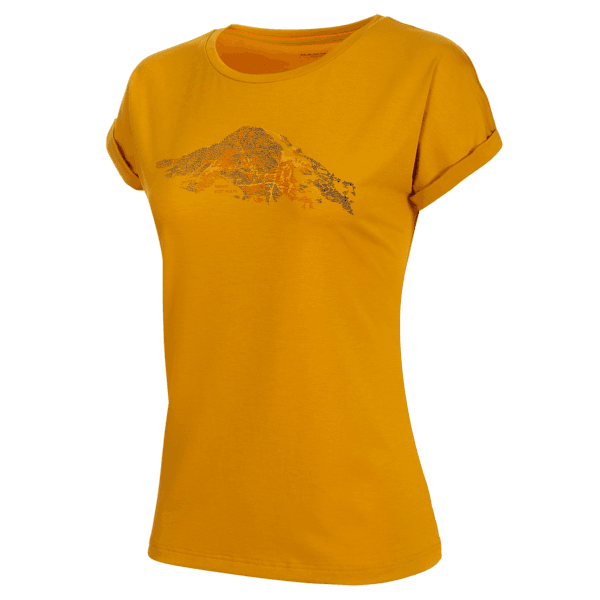 Mountain T-Shirt Women (1017-00961) golden 1242