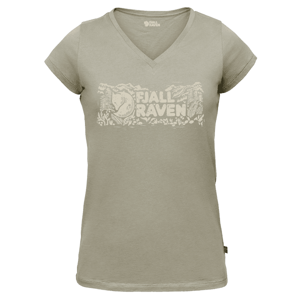 Logo Stamp T-Shirt Women Fog