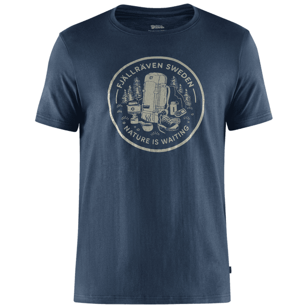 Fikapaus T-shirt Men Navy
