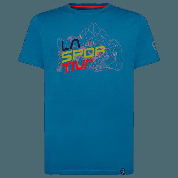 Cubic T-Shirt Men Neptune