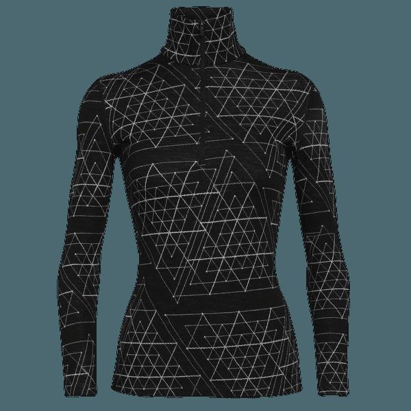 Vertex LS Half Zip Ice Structure Women 250 Black