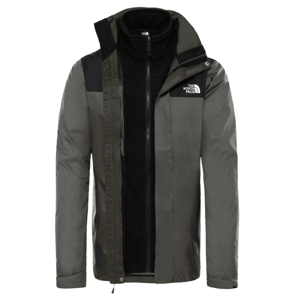 EVOLVE II TRICLIMATE JACKET Men NEW TAUPE GREEN/TNF BLACK