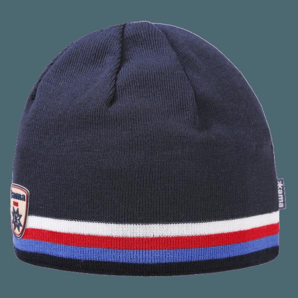 Pletená Merino čepice A154 108 navy