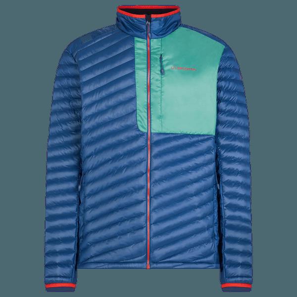 Krush Primaloft Jacket Men Opal/Grass Green