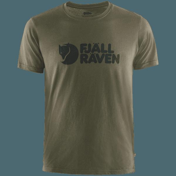 Fjällräven Logo T-shirt Men Dark Olive