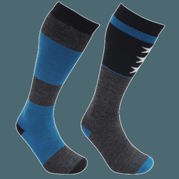 Ski/Snowboard Merino 2 Pack Men - S2WL black/blue