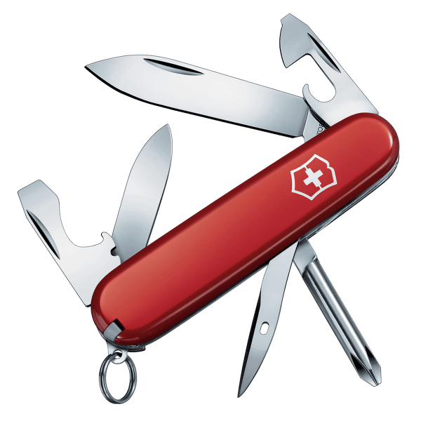 Swiss Army Knife Tinker Small Red