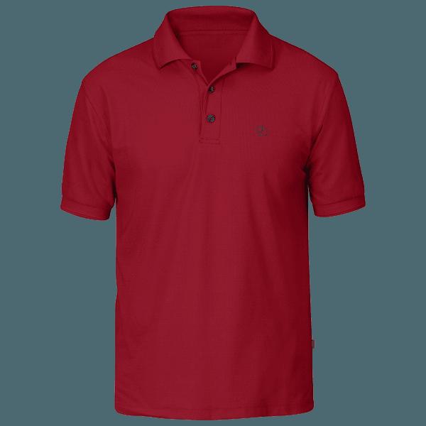 Crowley Pique Shirt Men Deep Red