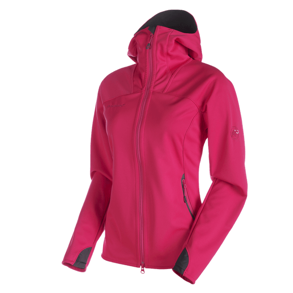 Ultimate Hoody Women magenta-black