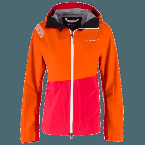 Thema Gtx Jacket Women Pumpkin/Garnet
