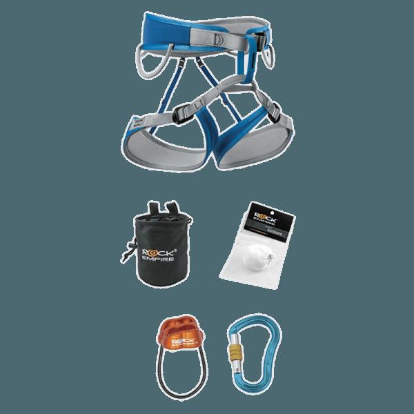 Lezecký set Premium (SUS108.000) Azurová