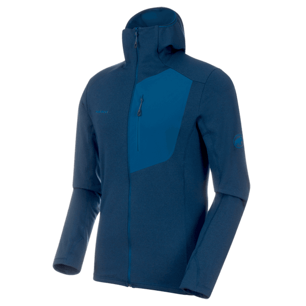 Aconcagua Light ML Hooded Jacket Men (1014-00690) poseidon melange