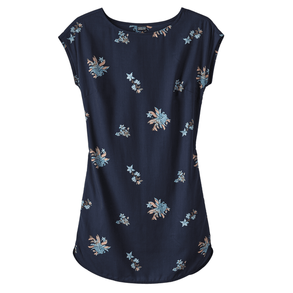 June Lake Dress Women Sassafras: Neo Navy