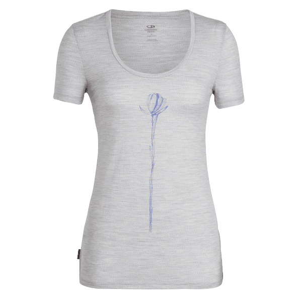 Tech Lite SS Scoop Solo Women Blizzard HTHR