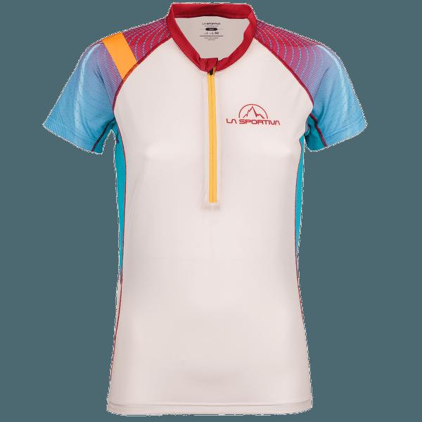 Speed T-Shirt Women Berry/White