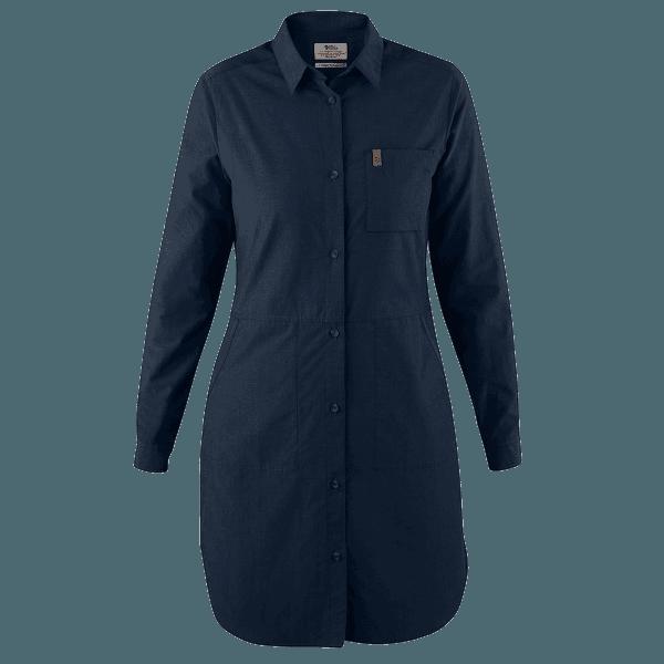 Övik Shirt Dress Women Dark Navy