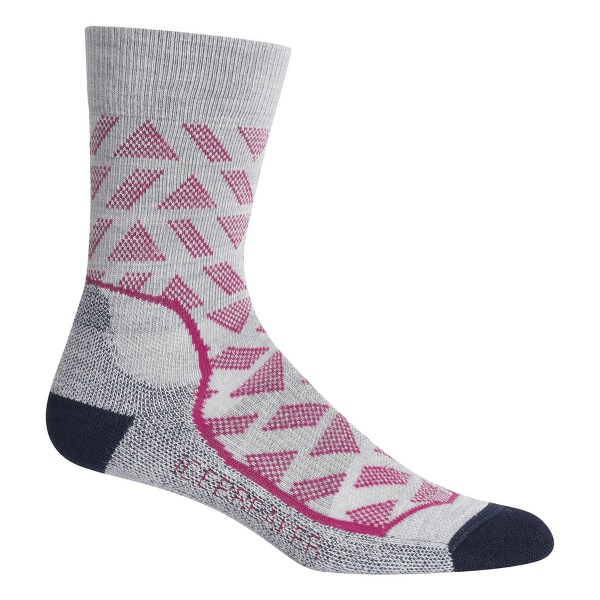 Hike+ Light Crew Stride Women Blizzard HTHR