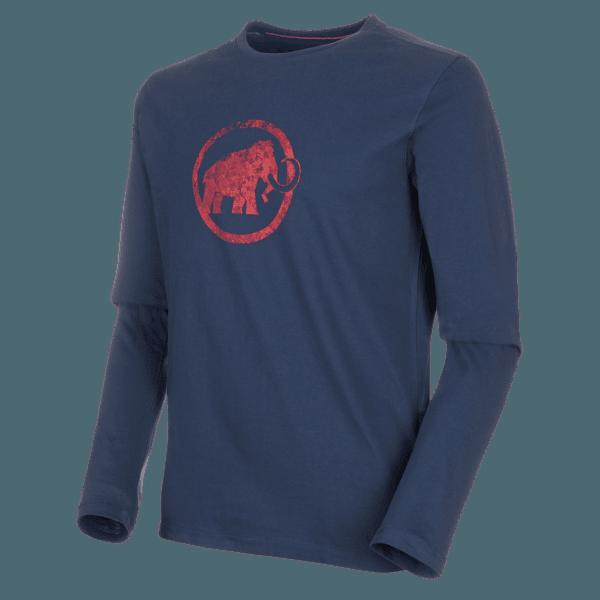 Mammut Logo Longsleeve Men (1016-00530) peacoat
