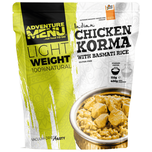 Lightweight Kuře Korma s rýží Basmati