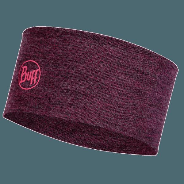 2 L Midweight Merino Wool Headband DAHLIA MELANGE