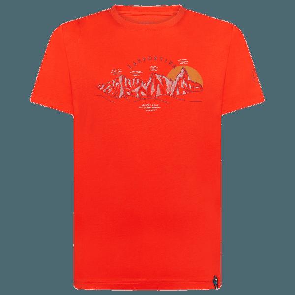 View T-Shirt Men Poppy
