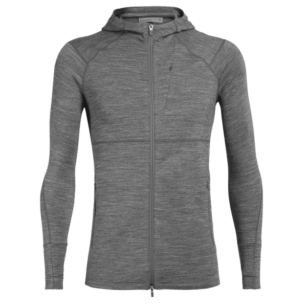 Quantum II LS Zip Hood Men