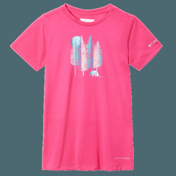 Ranco Lake™ Short Sleeve Tee Girls Red 613