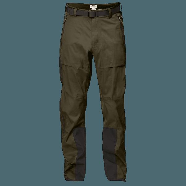 Keb Eco-Shell Trousers Men Dark Olive