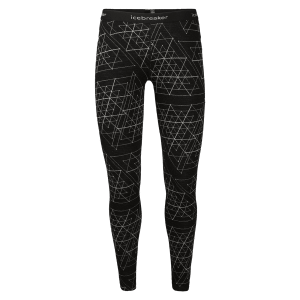 Vertex Leggings Ice Structure Women 250 Black