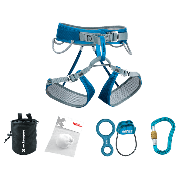 Lezecký set Premium (SUS108.000) Azurová 004