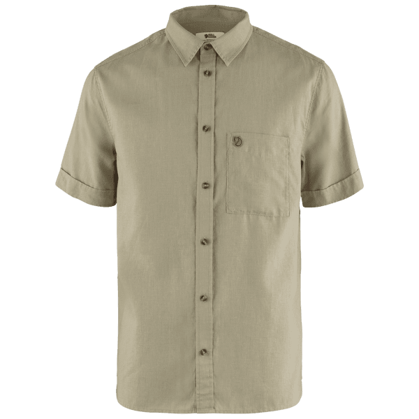 Övik Travel Shirt SS Men Sand Stone