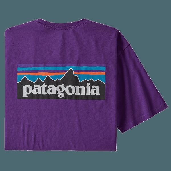 P-6 Logo Organic T-Shirt Men Purple
