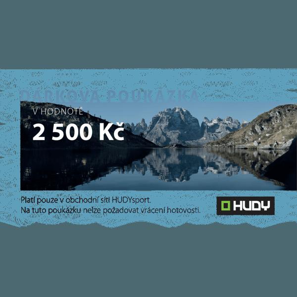 Dárková poukázka 2500 Kč