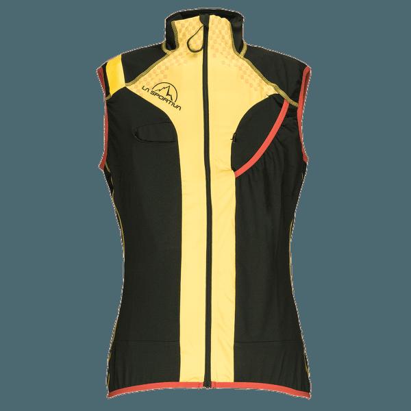 Syborg Racing Vest Men Black/Yellow (Black Yellow)