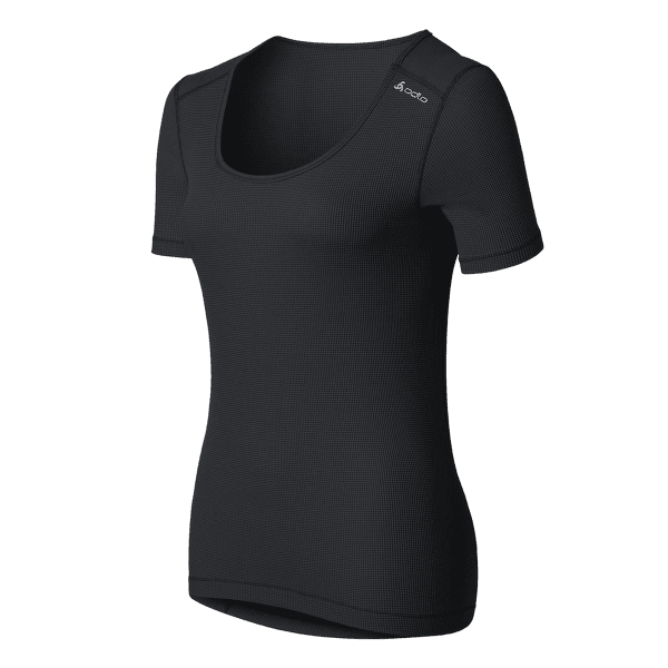 Cubic Singlet Women Ebony grey - black