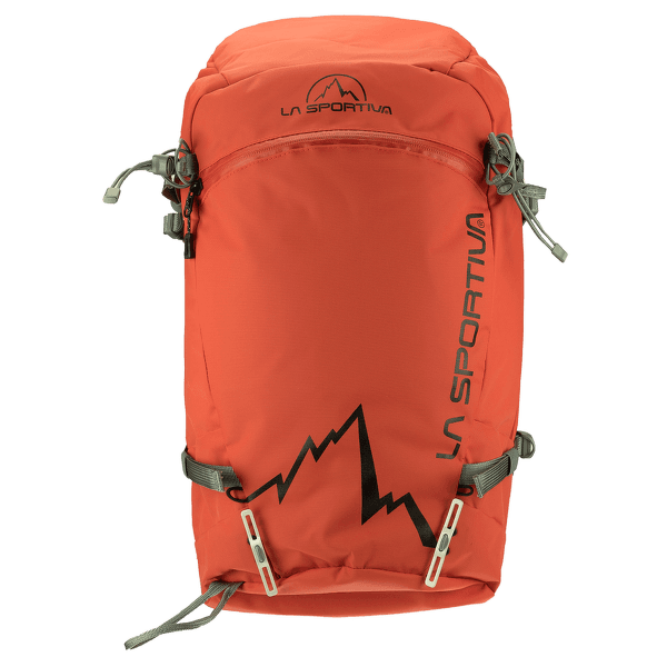 Moon Powder Backpack Red