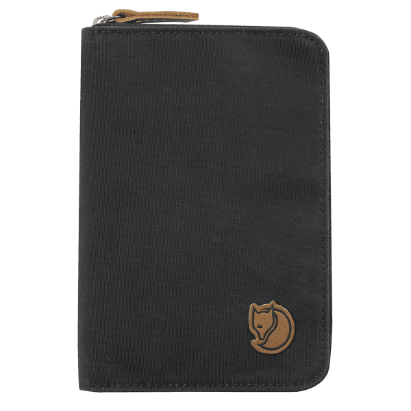 Passport Wallet Dark Grey 030
