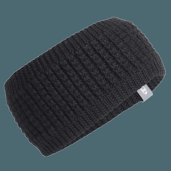 Adult Affinity Headband Black/Gritstone HTHR