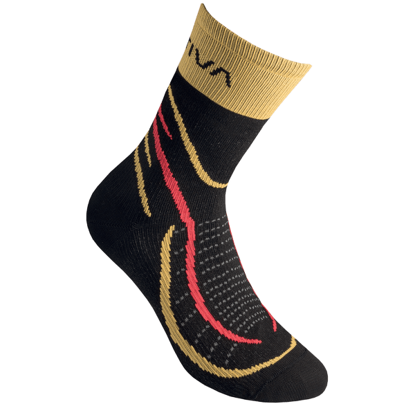 Sky Socks Black/Yellow