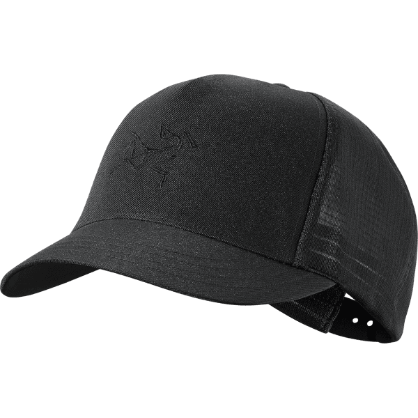 Tirse Trucker Hat Black