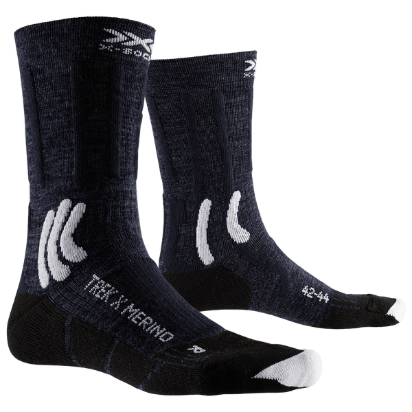 Trek X Merino Socks Blue-White