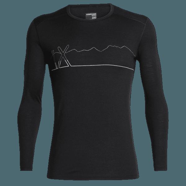 Oasis LS Crewe Single Line Ski Men Black