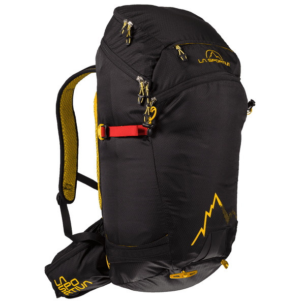 Sunlite Backpack Black/Yellow 999100