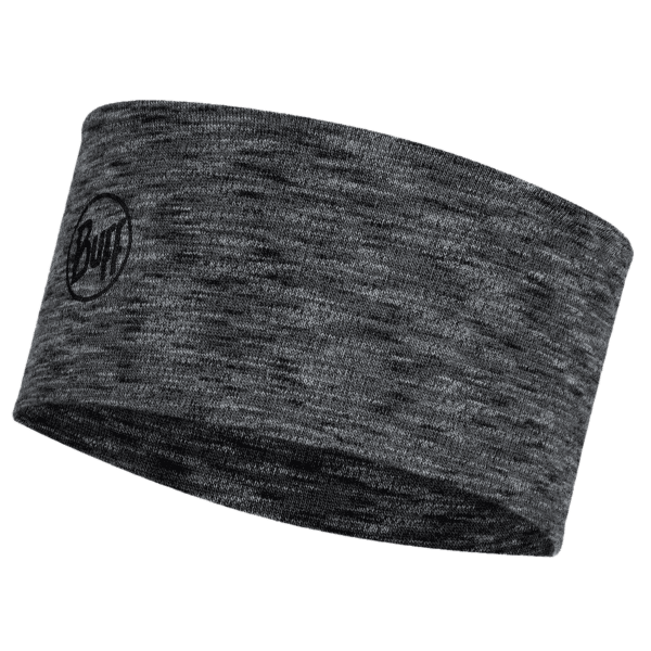 2L Midweight Merino Wool Headband (118175) GRAPHITE MULTI STRIPES